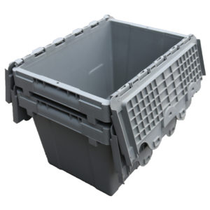 plastic hinged containers small
