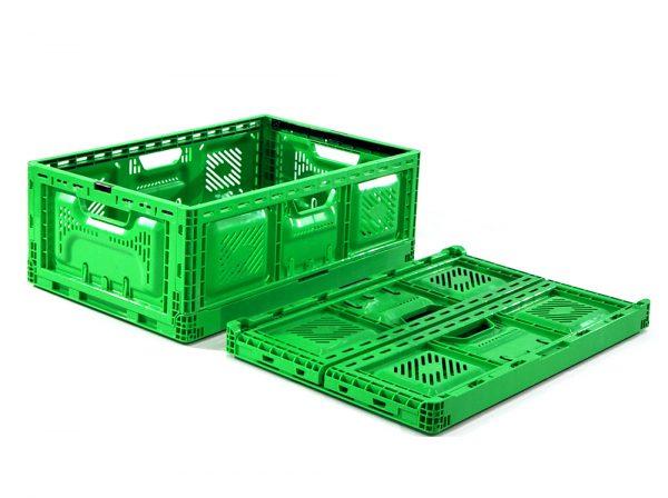 folding vegetable crates