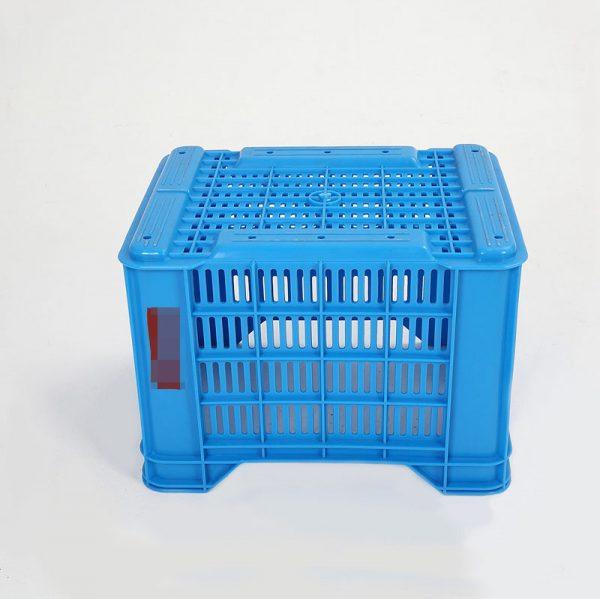 plastic apple crates